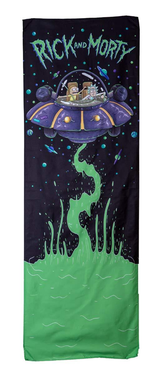 Calhoun Rick and Morty Door Banner (26'' by 78'') (Rick's Spaceship)