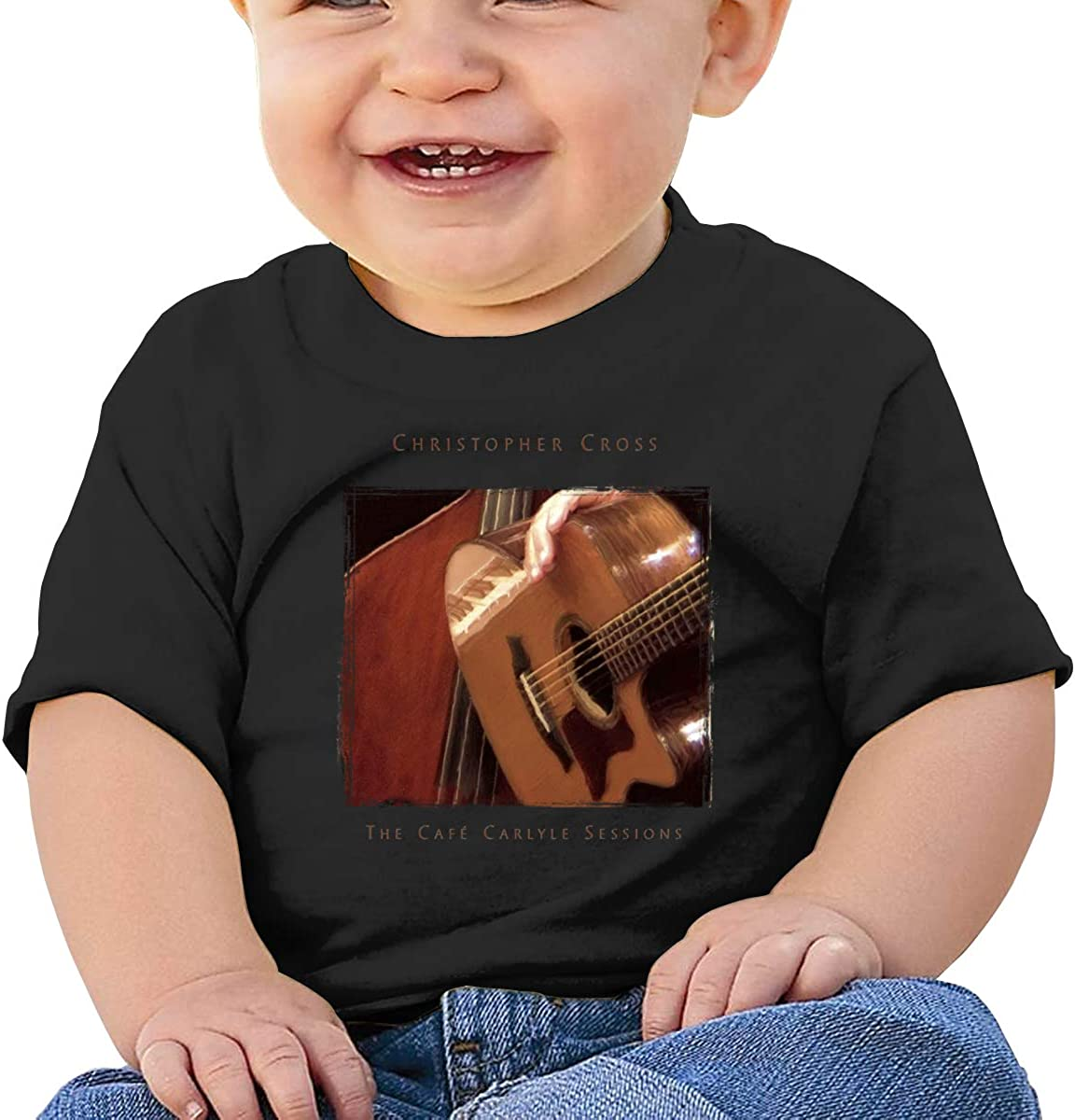 Baby Christopher-Cross-The Cafe Carlyle Session Shirts Toddler Cotton Tee
