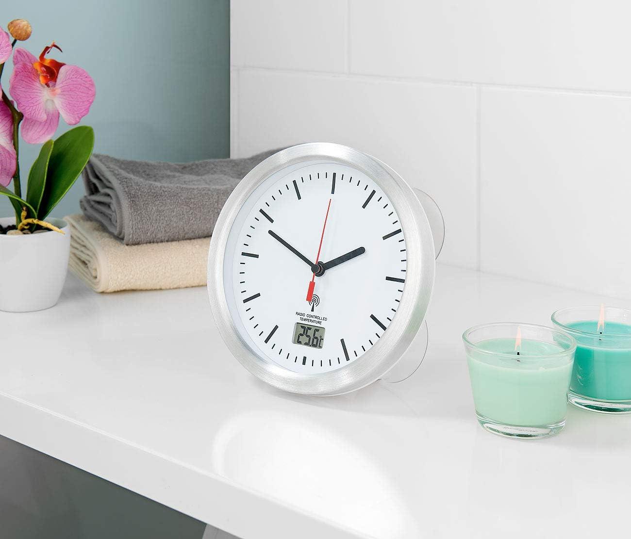 Uhr Badezimmer Saugnapf