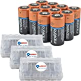Amazoncom Duracell Dl123 Ultra 3 Volt Lithium 123 Battery 12 Pack