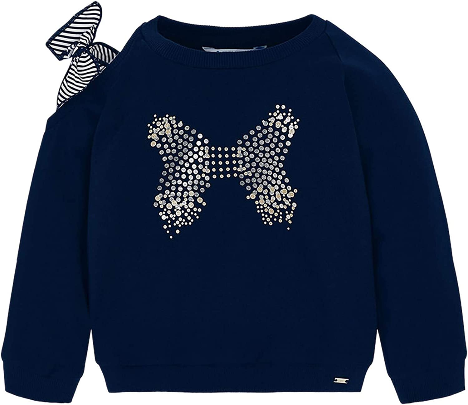 Navy 3401 Tie Pullover for Girls Mayoral