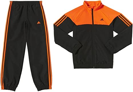 adidas YB TS KSP WV CH - Chándal para niño, color naranja/negro ...