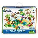 Learning Resources Gears! Gears! Gears! Movin' Monkeys Building Set, 136 Pieces