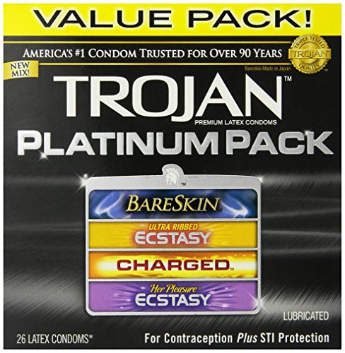 (Platinum Pack Lubricated Condoms, 26 Count)