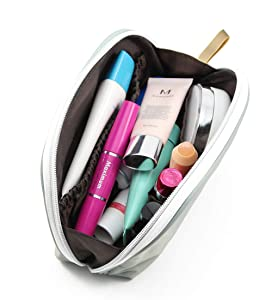 Admirable Idea Small Portable Cosmetic Travel Bag,Women Girls Handy Cosmetic Pouch,Travel Organizer Case Makeup Bag - Mintgreen/small