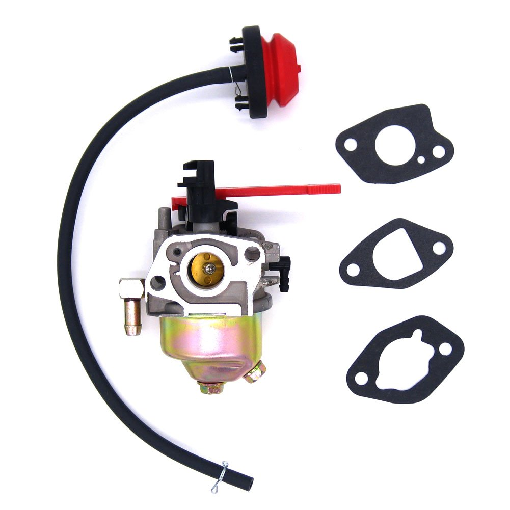 NIMTEK New Carburetor for MTD Club Cadet & Troy Bilt Fits 751-10956a / 951-10956a with Gastket/Primer Bulb