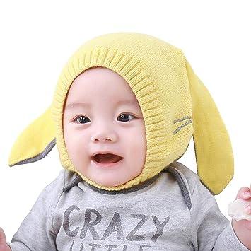 686521889faf8 AOLVO Gorro de Punto cálido para bebé