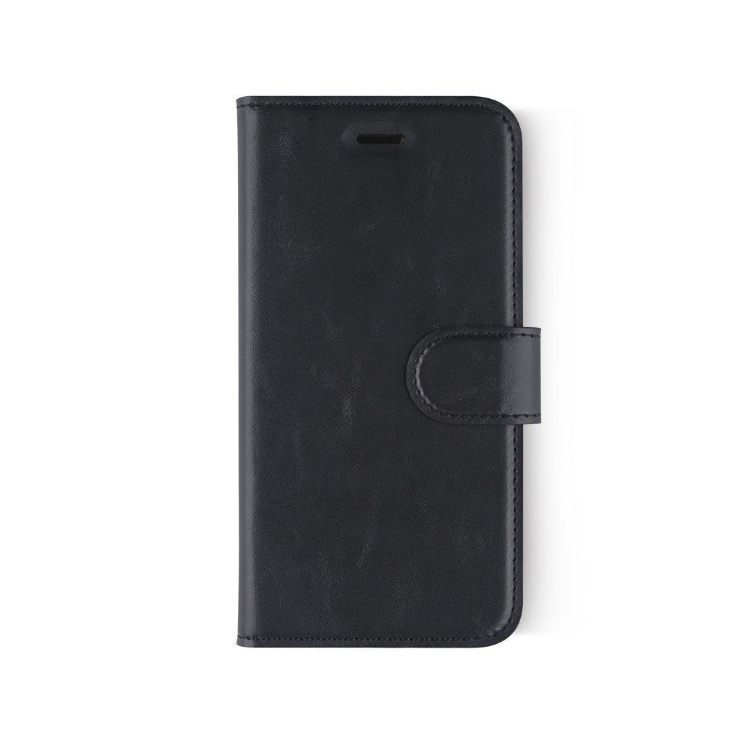 iPhone 6 / 6S / 7 / 7S用MEウォレットケース(PUレザー) - ブラック   B075QBWHVH