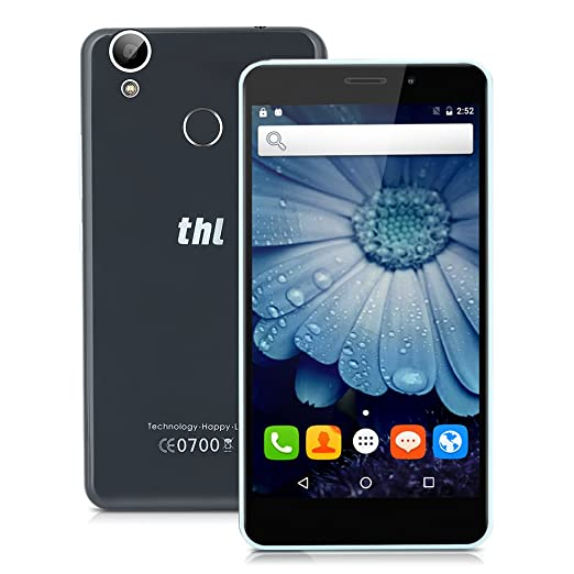 "89 opinioni per THL T9 Pro 4G Smartphone- 5.5"" HD Fingerprint Touch ID Android 6.0 Quad cores"