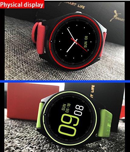 Kapel Reloj Inteligente Pantalla IPS 1,22 Pulgadas Bluetooth 3.0 ...