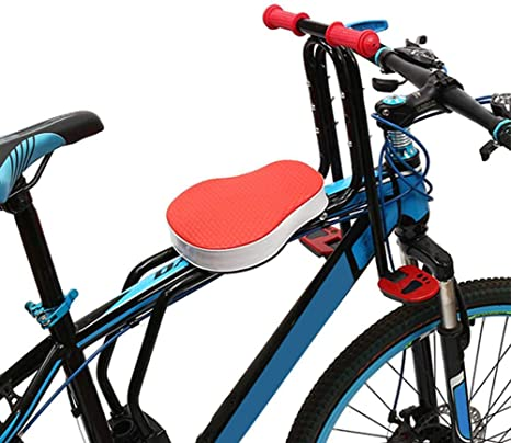 JTYX Sillas de Bicicletas para niños Asiento Delantero Pedal ...