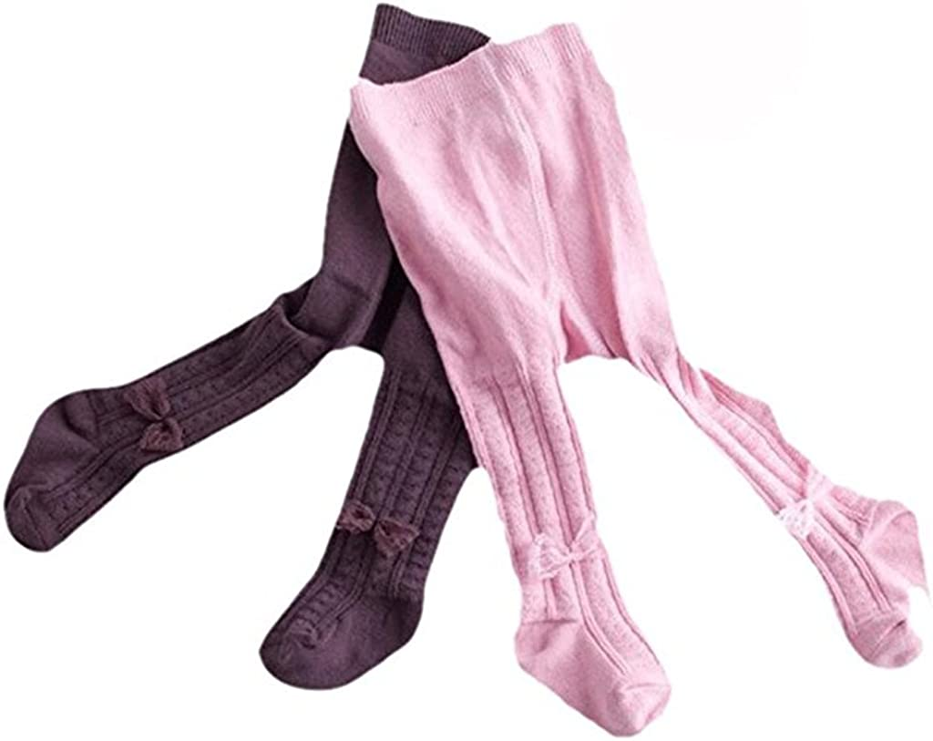 Kids Baby Toddler Girls 2 Pcs//5Pcs of Combed Cotton Bowknot Tights Leggings Panties