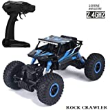 The Flyer's Bay Remote Controlled Rock Crawler RC Monster Truck, Four Wheel Drive, 1: 18 Scale 2.4 GHz