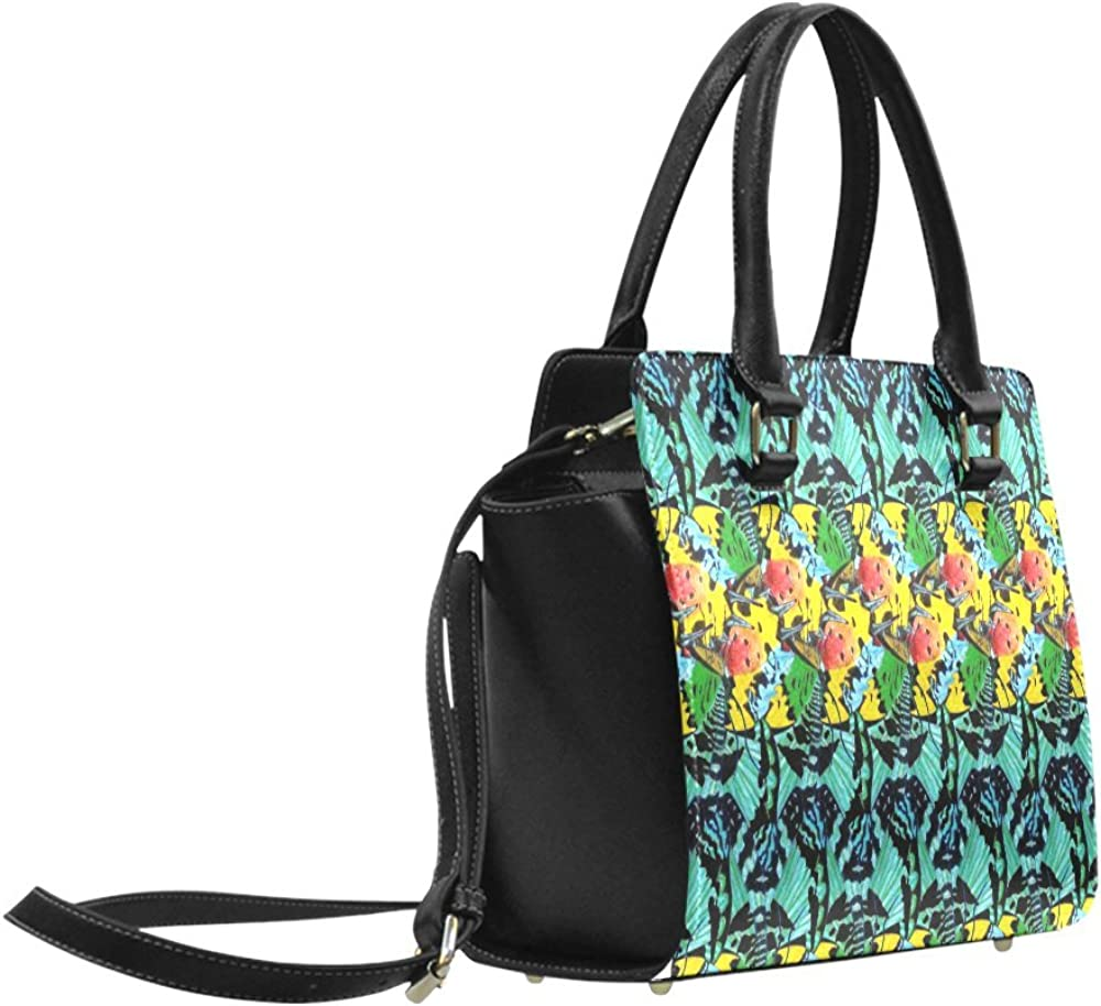 Interestprint Custom Sunset Wings Classic Women Top Handbag Shoulder Bag