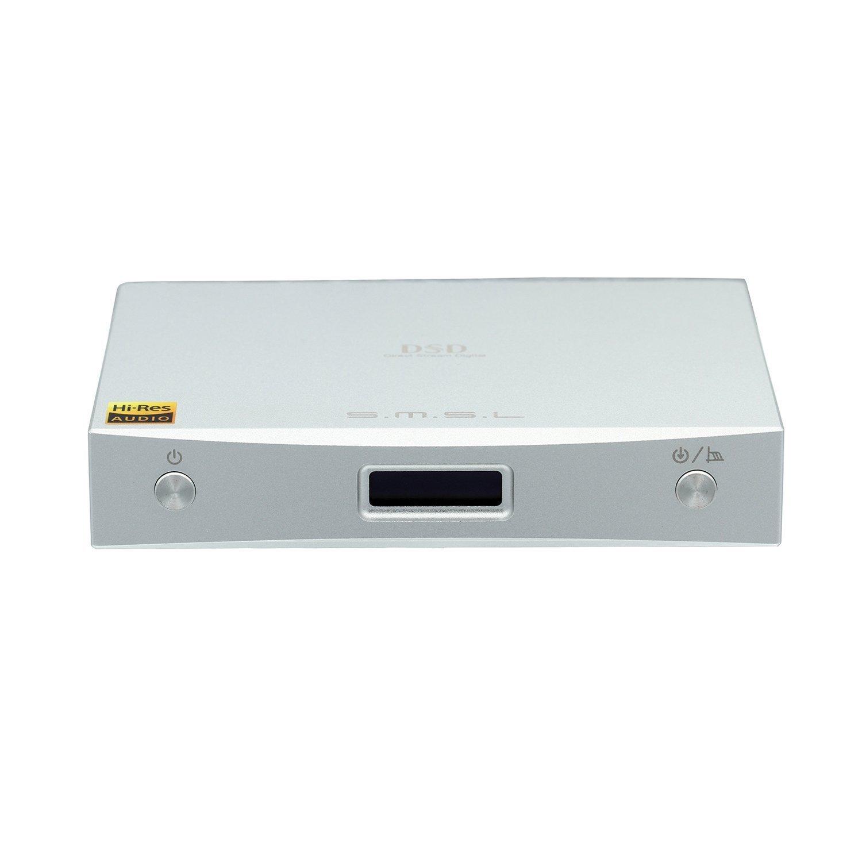 SMSL M8A 2世代XMOS ES9028Q2M 32bit/768KHz DSD512 USB DAC光同軸デコーダー M8A B0721JM1Q5