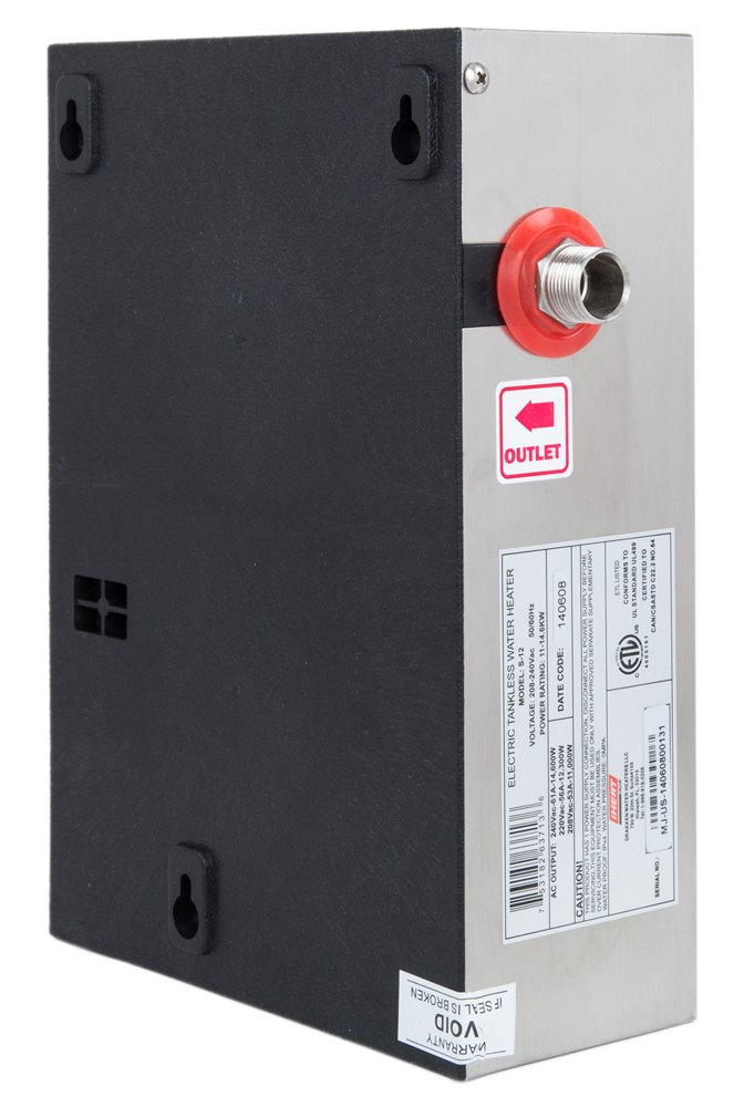 iHeat Tankless S 16 240V 66A 16KW Stainless