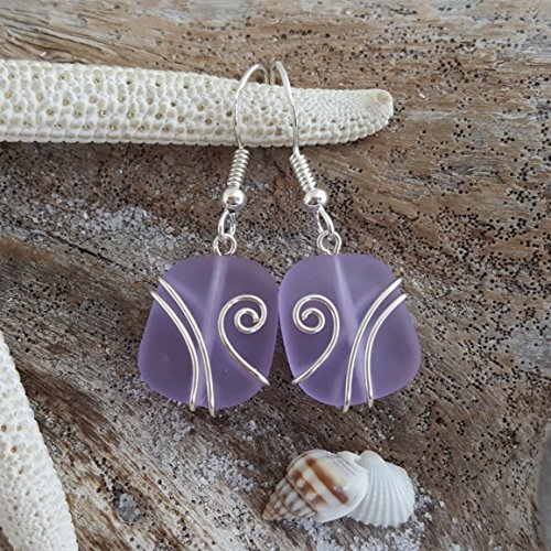 Handmade Wire Wrapped Earrings - Handmade in Hawaii, wire wrapped