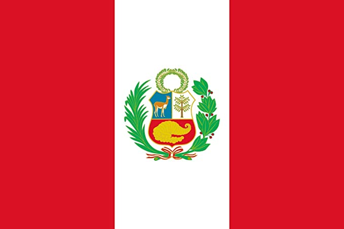 magFlags Bandera Large Pabellón Nacional del Perú | Bandera Paisaje | 1.35m² | 90x150cm: Amazon.es: Jardín
