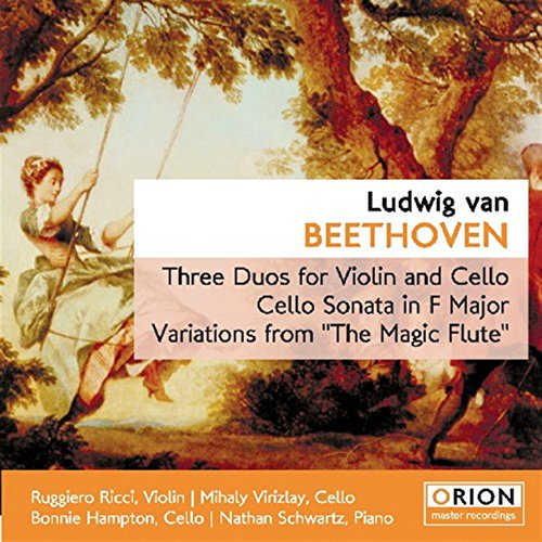 Luwig Van Beethoven - Three Duos For Violin And Cello - Cello Sonata In F Major - Variations From