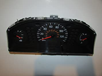 04-06 Nissan Sentra 1 8L Instrument Cluster Speedometer
