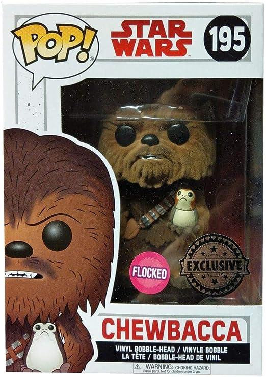 FYE Exclusive Flocked! Chewbacca Vinyl Figure MIB Funko Pop Star Wars