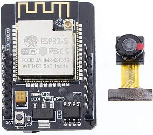 Lente de la cámara HD Placa de desarrollo de la cámara - ESP32-CAM ...