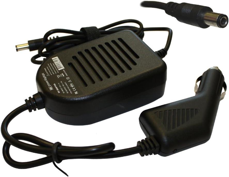 Power4Laptops DC Adapter Laptop Car Charger Compatible with Toshiba Qosmio F55-Q5041, Toshiba Qosmio F55-Q506, Toshiba SADP75PB, Toshiba SADP-75PB A, Toshiba Satego A100-00C