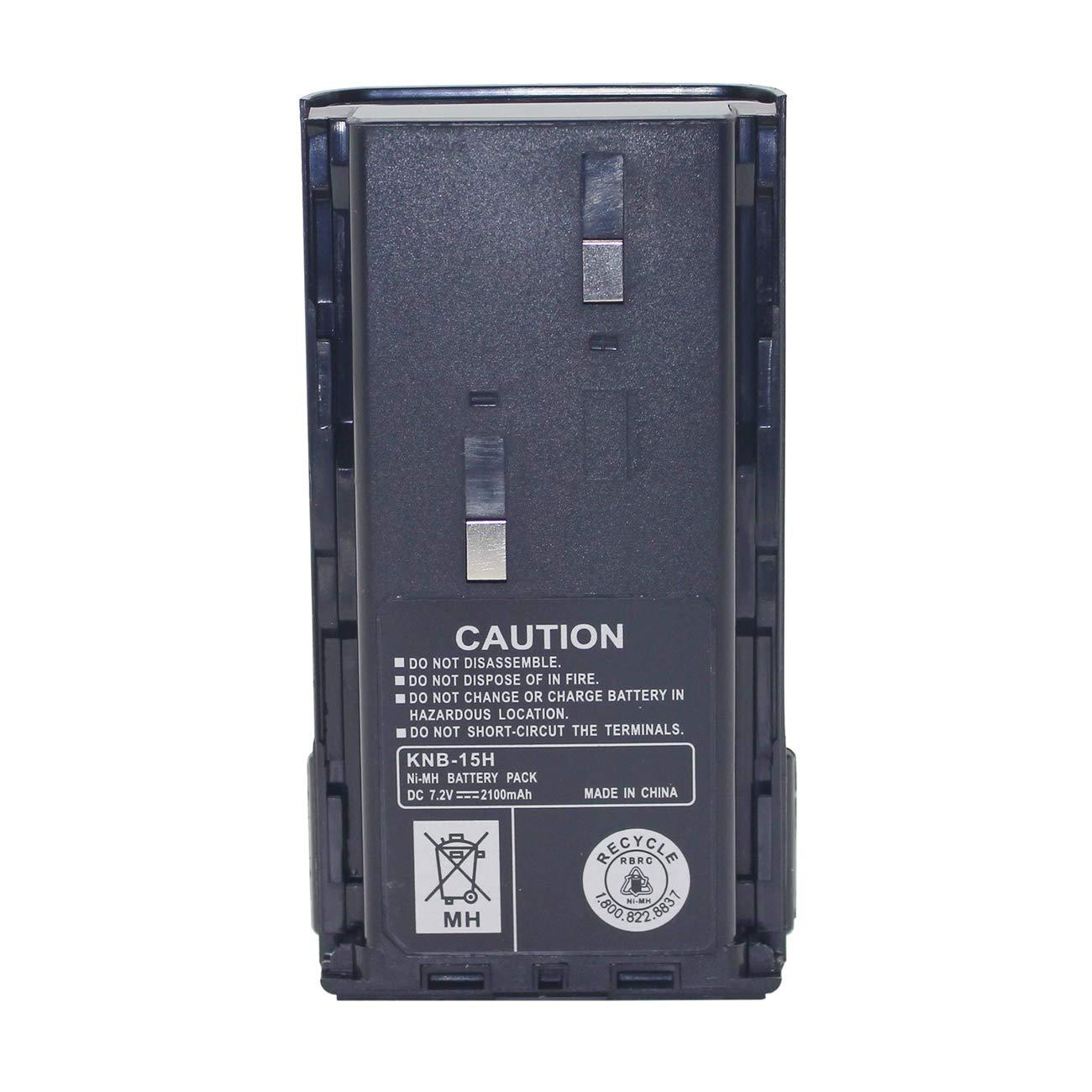 Batería Kenwood KNB-15 KNB-14 KNB-20 2100mAh 7.2V Ni-MH