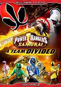 Power Rangers Samurai: A Team Divided Vol. 3 [DVD]