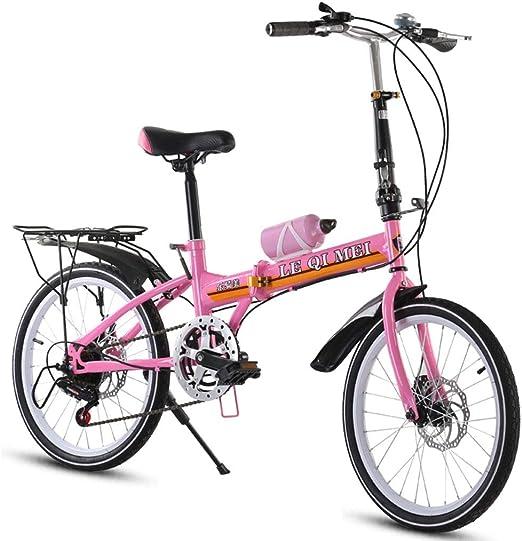 Paseo Bicicleta Plegable Adulto Bicicletas Plegables Recorrido Al ...