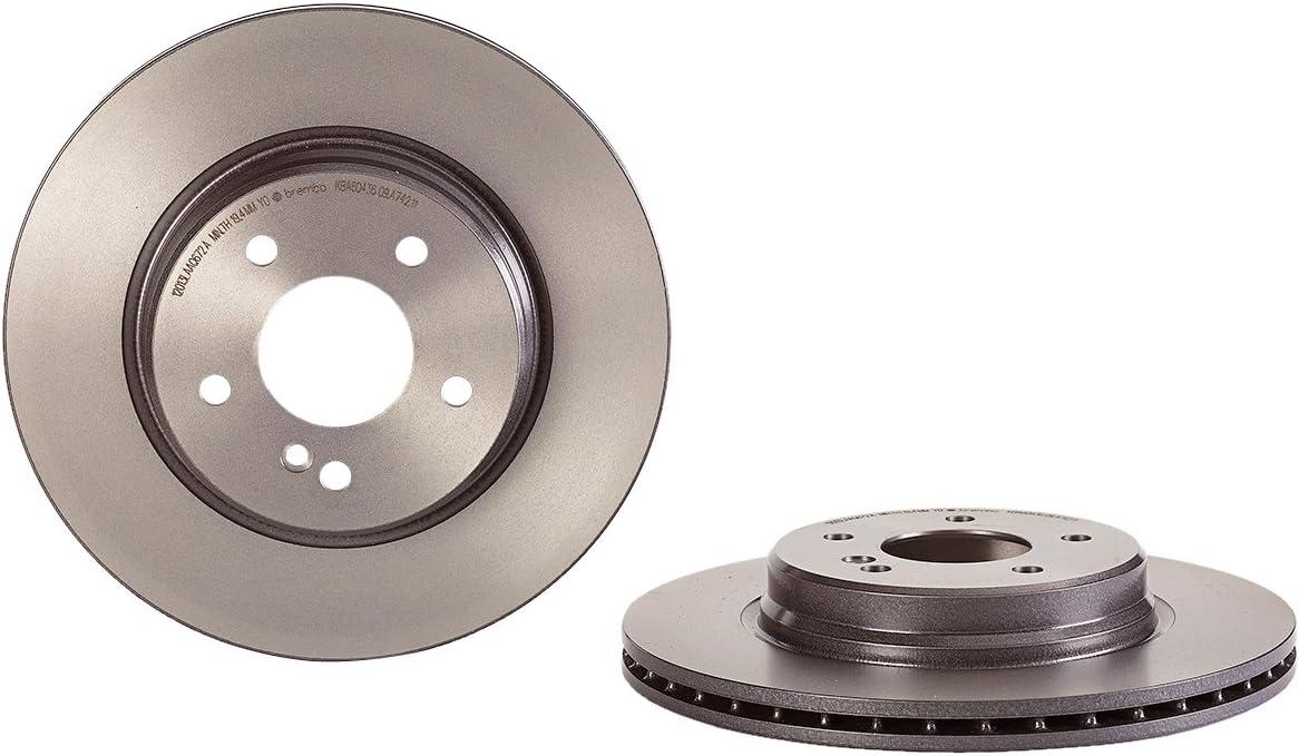 Brembo 09.A742.11 UV Coated Rear Disc Brake Rotor