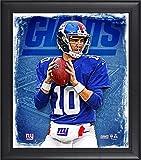 Best Sports Memorabilia Sports Memorabilia Collage Makers - Eli Manning New York Giants Framed 15