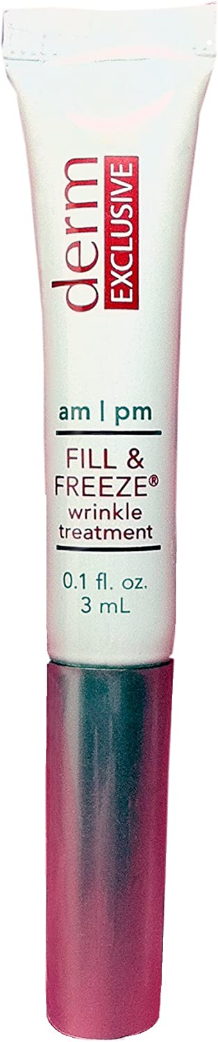 Derm Exclusive Fill & Freeze am/pm Wrinkle Treatment 0.1 fl. oz./3 mL