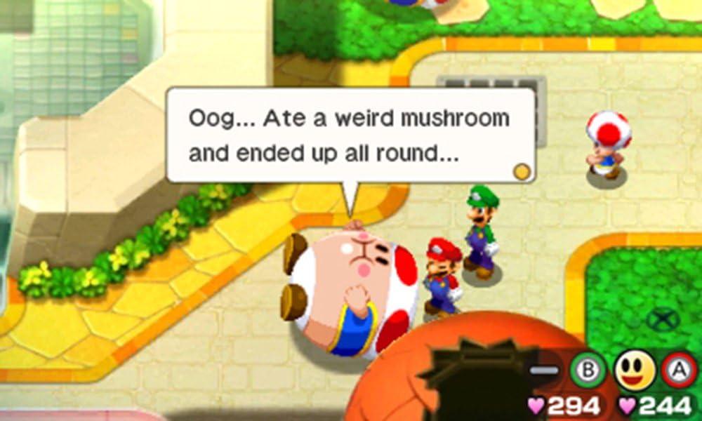 Amazon Com Mario Luigi Bowser S Inside Story Bowser Jr S