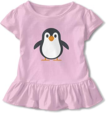 Girls Shorts Penguin Summer White Cotton Twill Chinos Kids Childrens Size 2 up to 13 Yrs