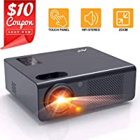 Artlii Energon Home Theater Projector with Dolby HiFi Stereo and Screen Zooming