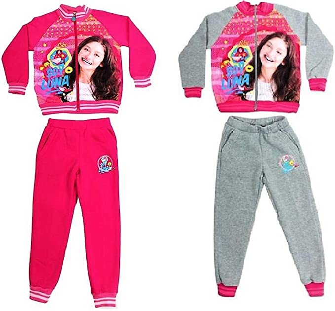 Soy Luna - Chándal - para niña Rose 12 Años: Amazon.es: Ropa y ...