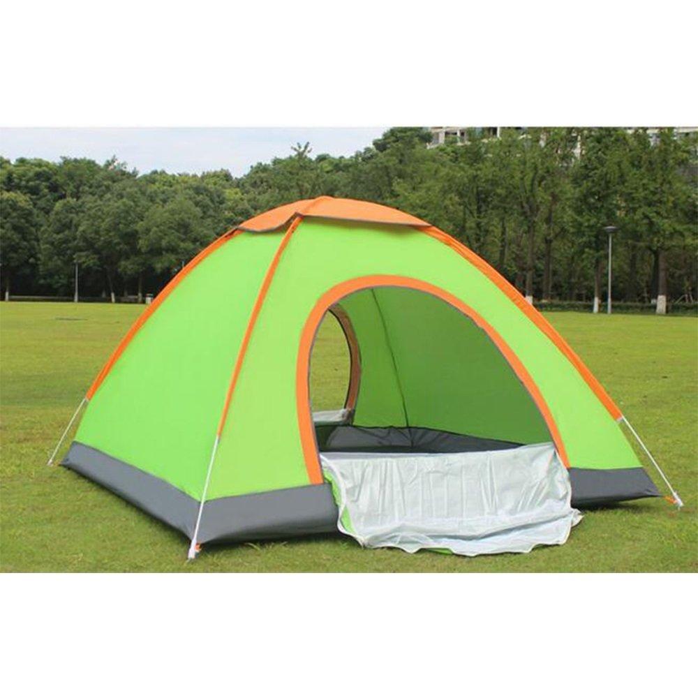 Outdoor Camping Zelt Outdoor 3-4 Personen automatische Geschwindigkeit Ausrüstung Familie Reise Anti - Moskitonetze