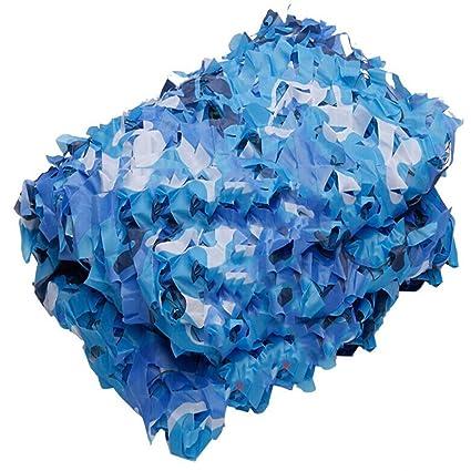 Rete Mimetica Blu Marina Tessuto Militare Oxford Protezione Solare