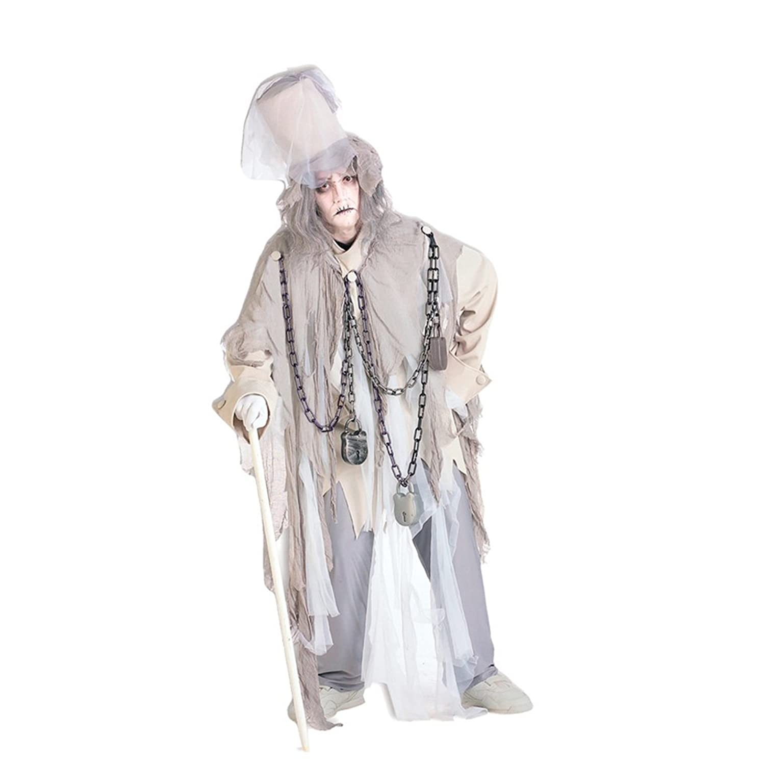 Dickens Marley outfit for Halloween and fancy dress parties