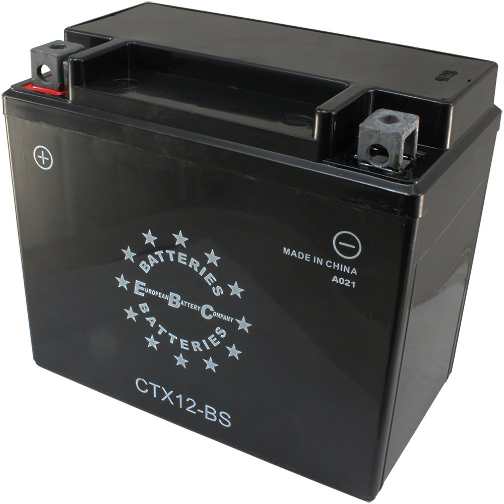 EBC CTX12BS 12V 12Ah 150CCA Motorcycle Battery EBC Battery