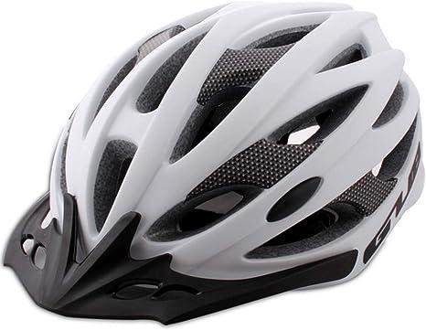 JKHOIUH Casco para ciclista Casco de seguridad para bicicleta ...