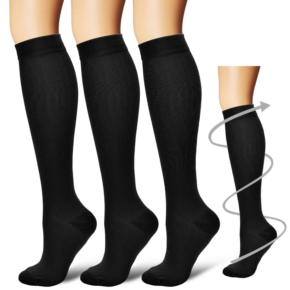 01131f5b68 Laite Hebe Compression Socks,(3 Pairs) Compression Sock Women & Men - Best