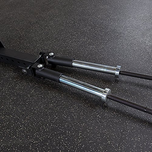 Body-Solid SPRTB Dual T Bar Row for SPR500 and SPR100 Power Racks by GymBasis