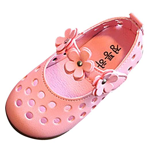 97b8a7c1666c1 Amazon.com: LNGRY Baby Sandals, Fashion Baby Girls Hollow Out Flower ...