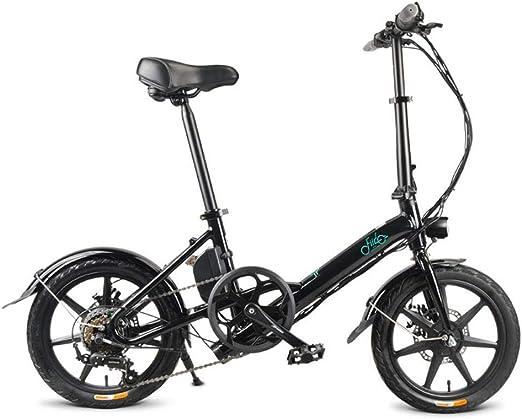 aheadad Bicicleta eléctrica Plegable FIIDO D3s 7.8, batería ...