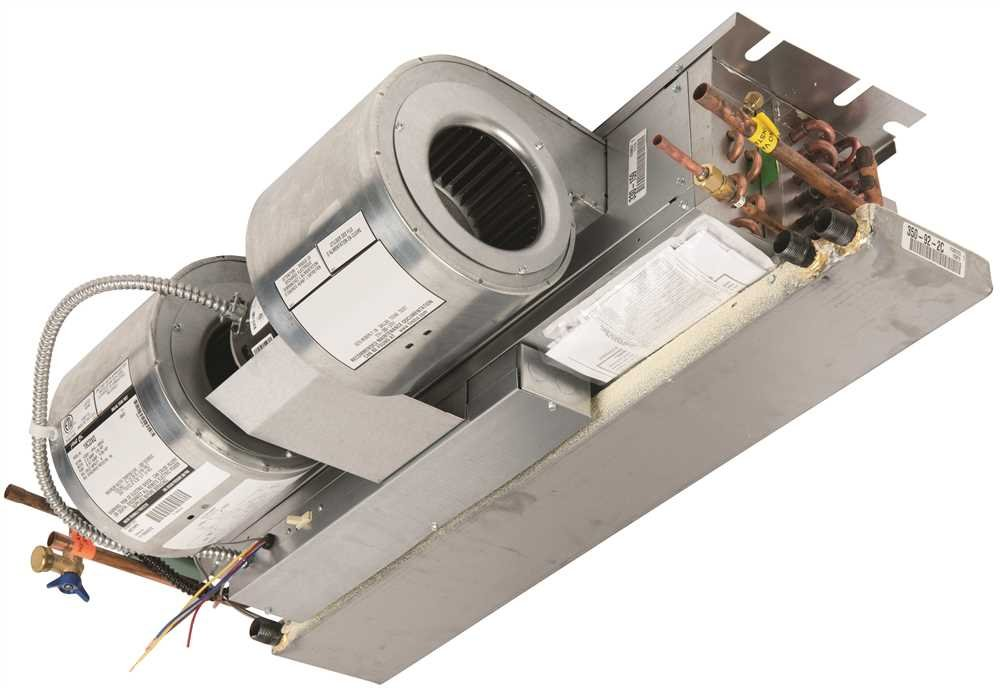 First 19CDXQ Company Fan Coil Unit, Recessed Ceiling, Horizontal, 1.5 Tons, 21 '' x 38.13 '' x 10''