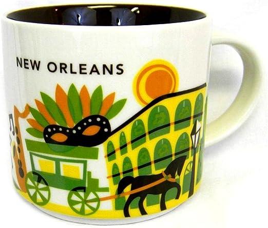 "New Starbucks Louisiana ""Been There Series"" Collection 14oz Mug"