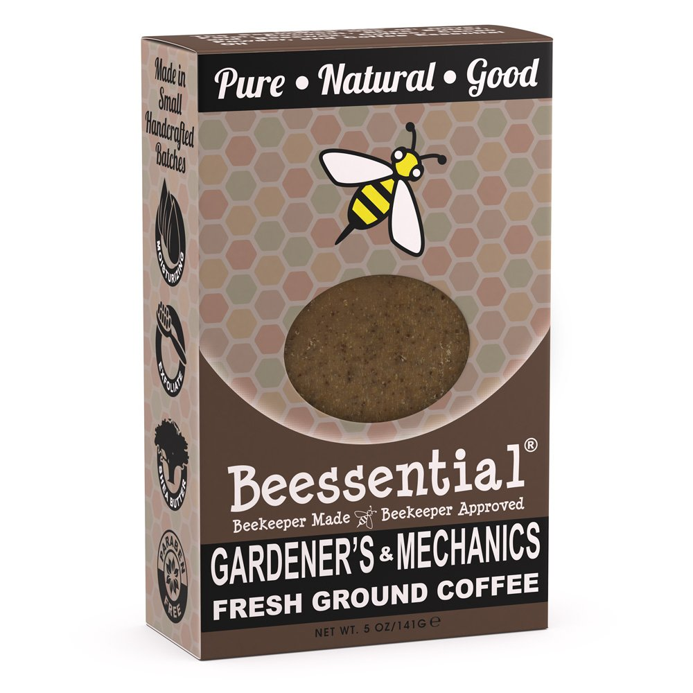 Beessential Mechanic And Gardener Soap, 5 Ounce