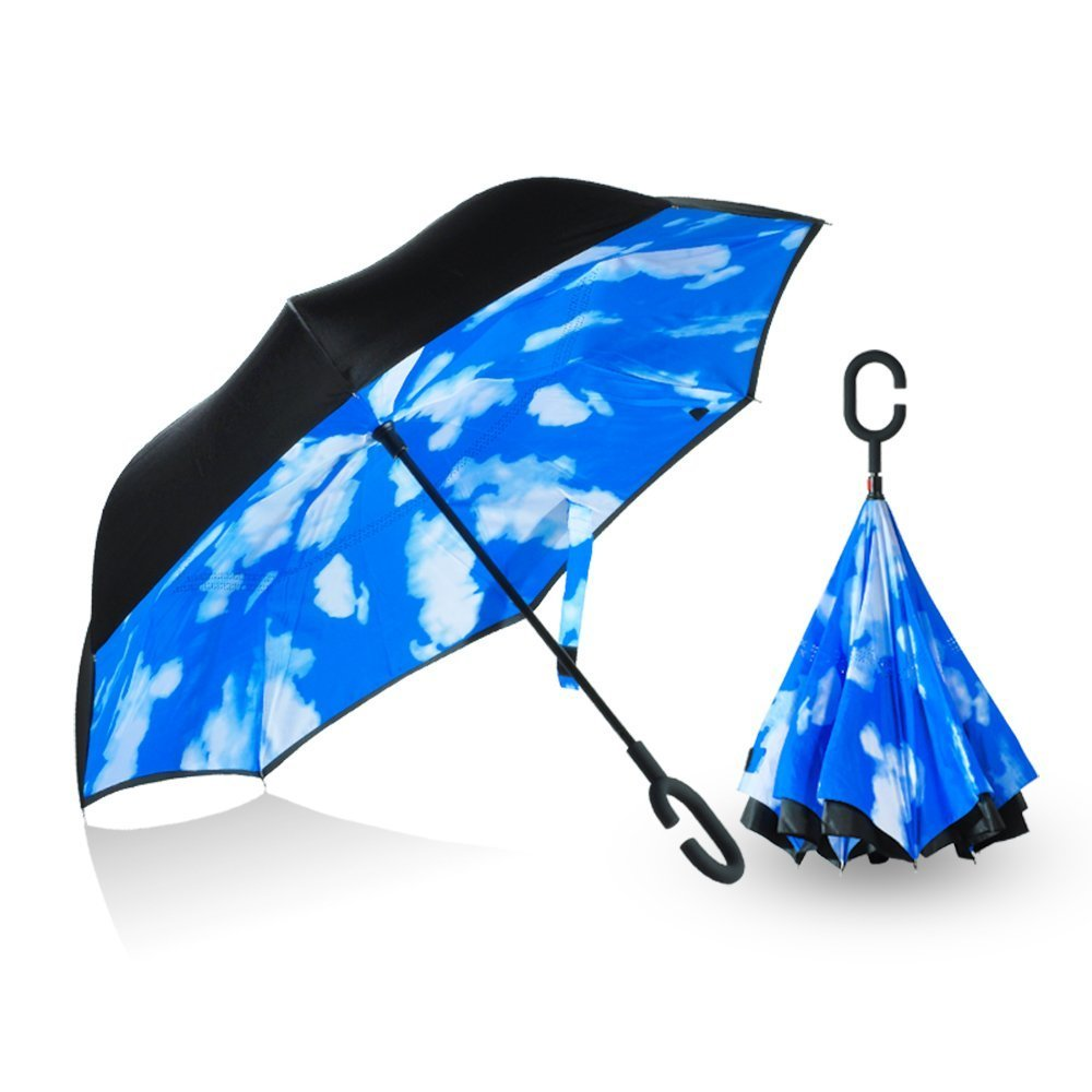 50e1c96a208d lovely Recheirisry Double Layer Reverse Folding Umbrella Cars ...